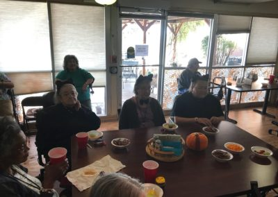 assisted living albuquerque halloween lunch